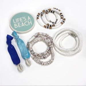 Puka Shell Necklace Cowrie Shell VSCO Bundle